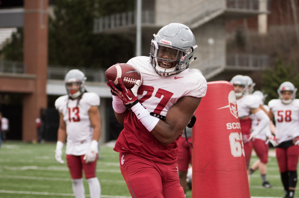 WSU Football Spring Practice No. 7 Photo Gallery